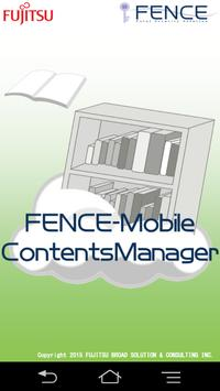 FENCE-Mobile ContentsManager poster