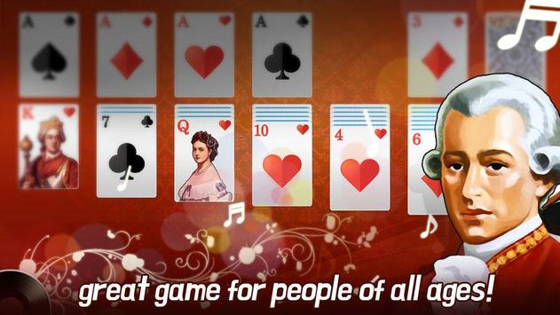 Solitaire with Classic music apk screenshot