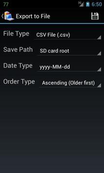 Battery Log screenshot 3
