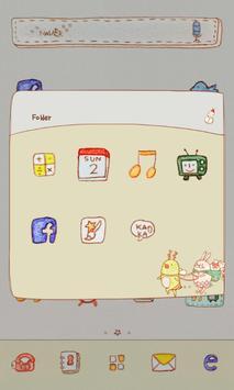 Young&Yoni dodollauncher theme screenshot 1