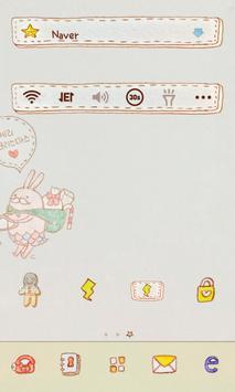 Young&Yoni dodollauncher theme screenshot 3