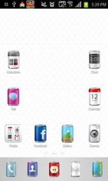 CAN icon theme apk screenshot