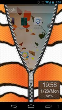 Zipper Lock Free FishSkin Coll apk screenshot