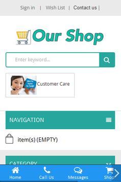 Our Shop apk screenshot
