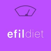 에필 다이어트(efil diet) - 만보기, 홈트레이닝, 식단, 체중 관리 icon