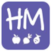 중도매인 유통관리 앱 허브마켓 icon