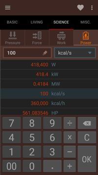 Convertidor de unidades captura de pantalla de la apk