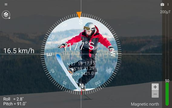Smart Compass apk screenshot