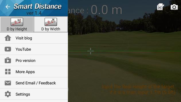 4 Schermata Distanziometro :Smart Distance