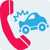 자동차보험 긴급출동 전화기 icon