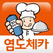 음식의 간맞추는 이노체카 염도조절기, 솔트체카, salinity controller icon