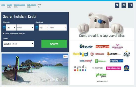 Krabi Hotel Booking poster