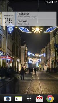 Krakow Christmas Timelapse LWP poster