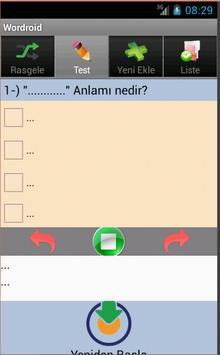 Wordroid apk screenshot