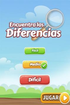 Find differences for children poster
