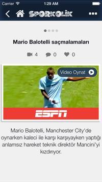 Sporkolik - Futbol, Basketbol screenshot 5