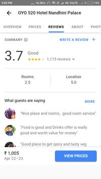 StayInfo - Find your near by hotels for best deals apk screenshot