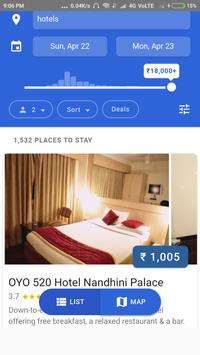 StayInfo - Find your near by hotels for best deals poster