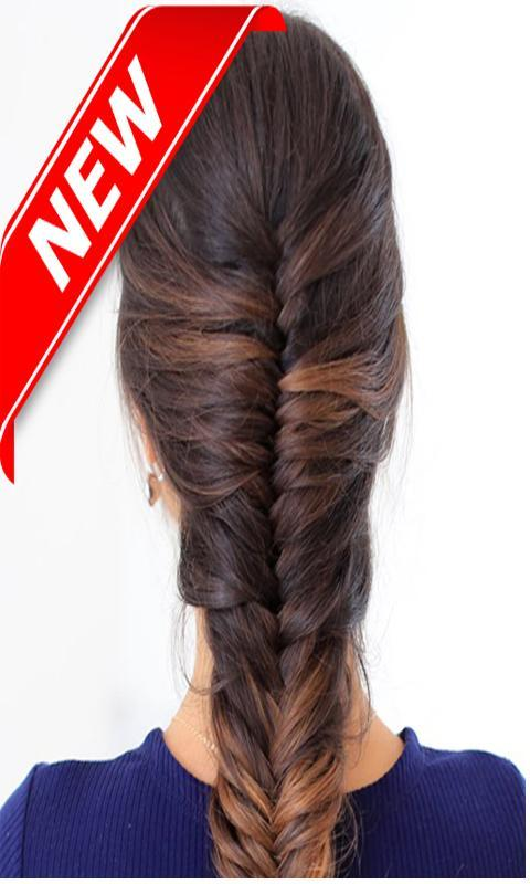 Fishtail Braid Hairstyle Step by Step Videos for Android ...