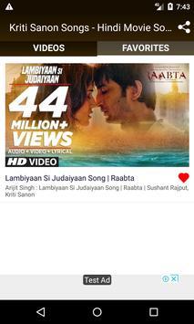 Kriti Sanon Songs - Hindi Movie Songs screenshot 3