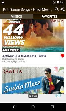 Kriti Sanon Songs - Hindi Movie Songs screenshot 4