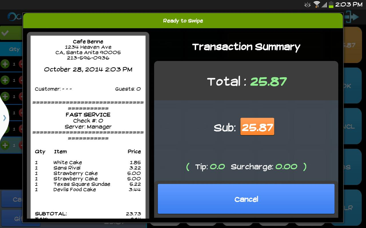 Point of Sale - Restaurant POS for Android - APK Download