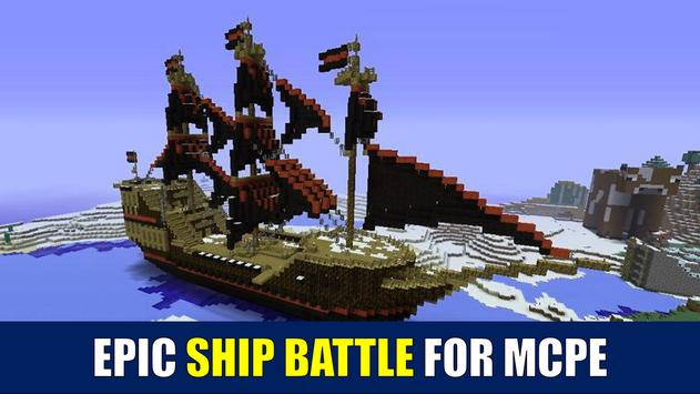Ship Battle for MCPE poster