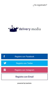 Delivery Media Influencer App poster
