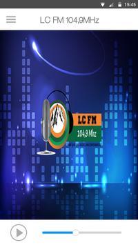 LC FM 104,9MHz Cartaz
