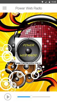 Power Web Radio Poster