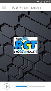 RÁDIO CLUBE TANABI poster