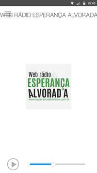 WEB RÁDIO ESPERANÇA ALVORADA Cartaz