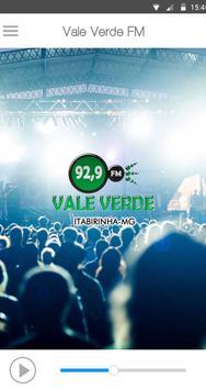 Rádio Vale Verde FM poster