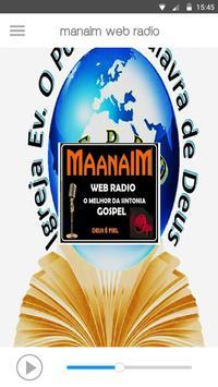 Manain Web Rádio apk screenshot