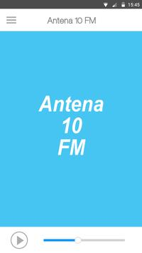 Antena 10 FM poster