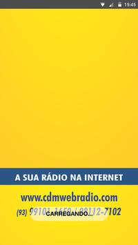 CDM Web Rádio poster