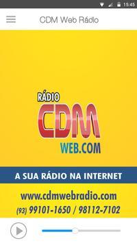CDM Web Rádio screenshot 1