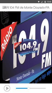 JARI 104 FM de Monte Dourado-PA poster