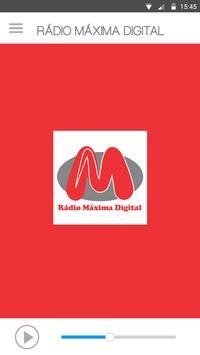 Rádio Máxima Digital apk screenshot