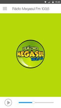Rádio Megasul Fm 103,5 poster