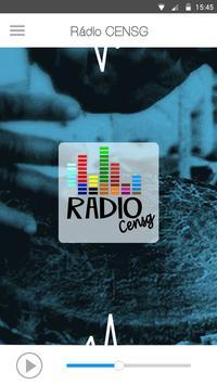 Rádio CENSG poster
