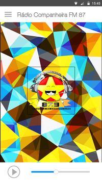 Rádio Companheira FM 87 poster