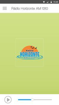 Rádio Horizonte AM 1310 poster