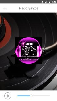 Rádio Santos apk screenshot