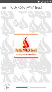 Web Rádio Aviva Brasil screenshot 1