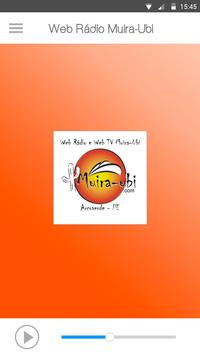 Web Rádio Muira-Ubi screenshot 1
