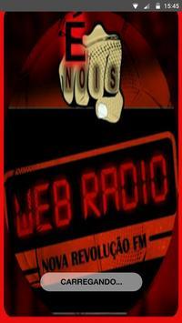 Web Rádio Nova Revolução FM poster
