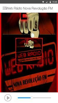 Web Rádio Nova Revolução FM screenshot 1