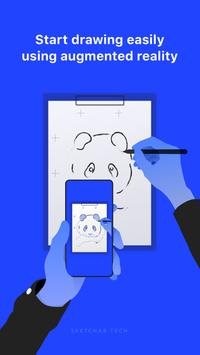 SketchAR: How to draw with augmented reality poster