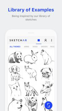 SketchAR: How to draw with augmented reality apk screenshot
